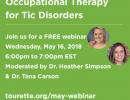 Tic Disorders Webinar
