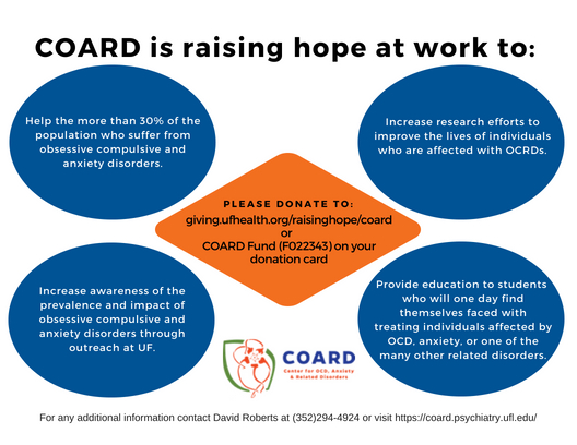 Back of Raising hope at Work - COARD Flyer.