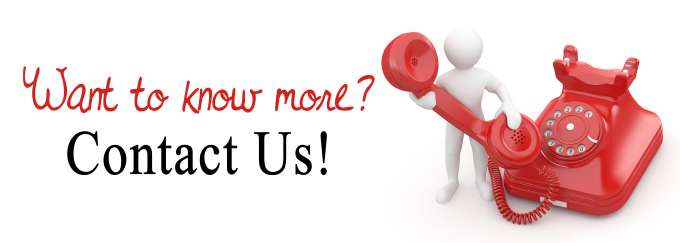 Want to know more contact us