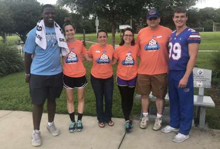 Gator Athletes Come To Fear Facers Camp