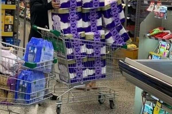 TP panic buying