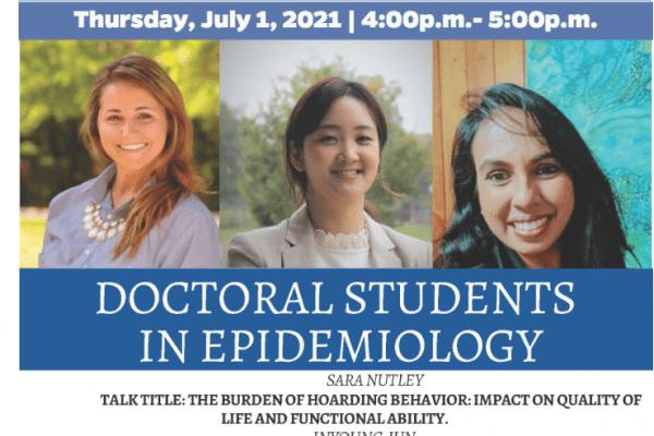 July Epidemiology Seminar: UF Doctoral Students