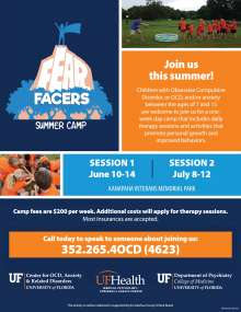 Fear Facers Camp 2019 Flyer